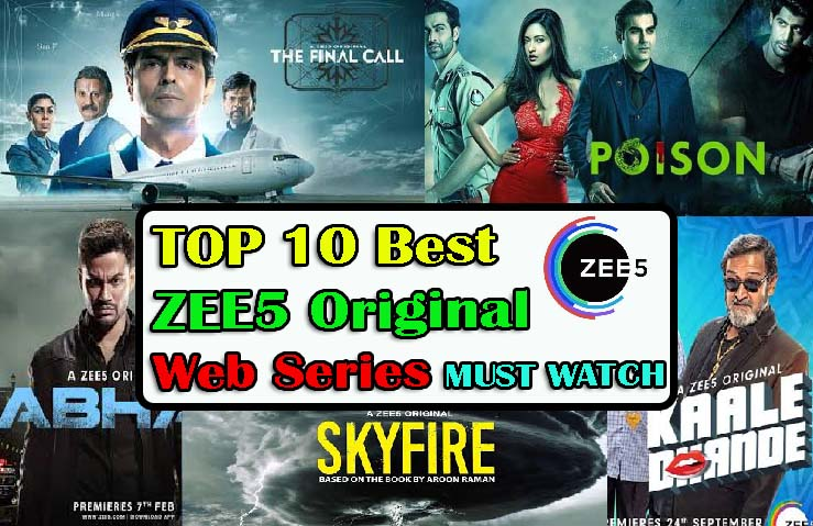 Best ZEE5 web series | ZEE5 web series list 2019