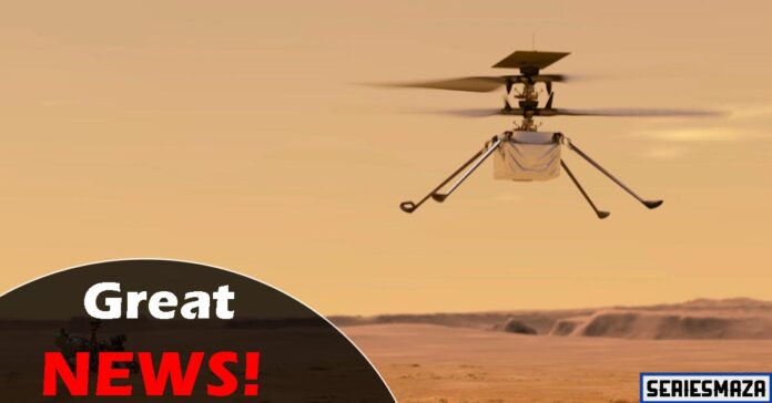 Mars Helicopter Flight,mars helicopter flight date, nasa mars helicopter flight,