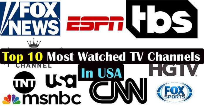 Most watched TV channels in USA, Most watched TV channels in America, Top most watched TV channels in USA, Best most watched TV channels in USA, Most watched television channels in the USA, Popular TV channels in USA, Most Popular TV channels in USA, American TV Channels List, Biggest TV Network in USA, Top News Channels in USA 2020,
